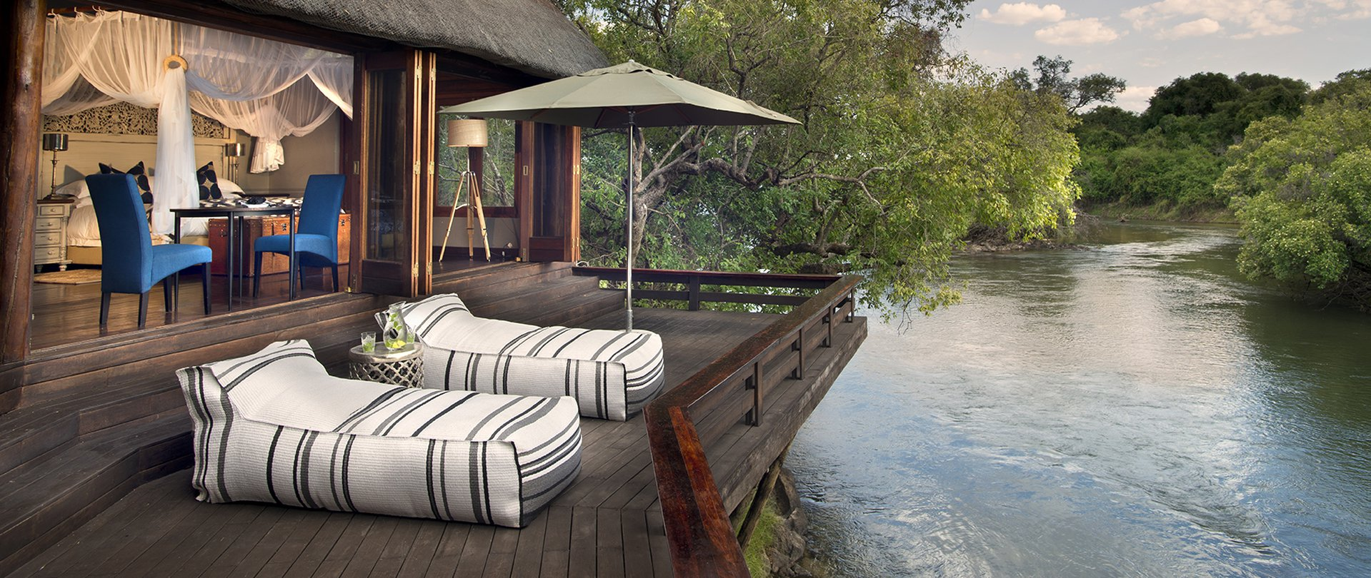 Luxury villa at Royal Chundu in Zambia